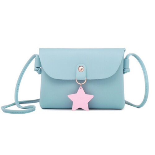 Women Fashion Cute Pure Color Star Sling Sac d/'épaule femme SWEET handbags