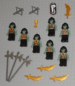 LEGO-Minifigures-Lot-7-Monster-Army-Trolls-Guys-Lego-Minifig-Castle-Knight-Toys
