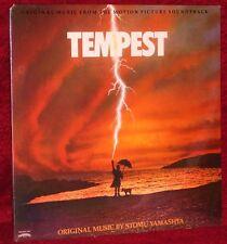 OST LP TEMPEST STOMU YAMASHTA 1982 CASABLANCA SEALED