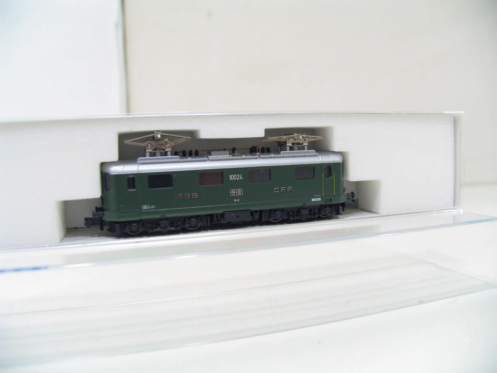 KATO 11603 E-LOK Re 4 4 green der SBB  LK879