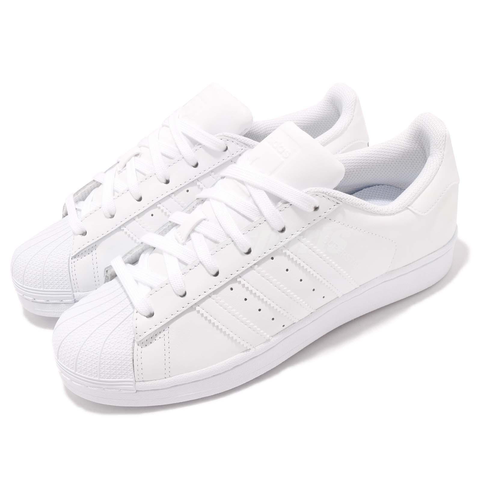 Adidas Originals Superstar Foundation bianca Out Uomo Casual Shoes Scarpe da Ginnastica B27136