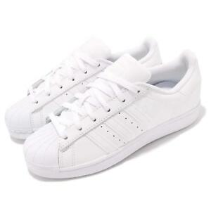 new style d4381 254c3 Image is loading adidas-Originals-Superstar-Foundation-White-Out-Men-Casual-