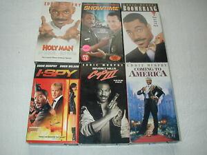 EDDIE-MURPHY-MOVIES-6-PACK-VHS-MOVIE-LOT-RARE-OOP-HTF