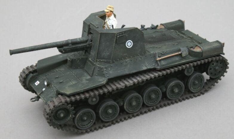 Thomas Gunn WW2 Pacific RS035B Japanisch Typ 1 Ho-Ni Selbst Angetrieben Gun Set