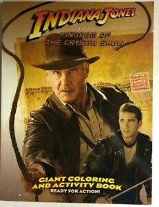 Indiana Jones And The Kingdom Of The Crystal Skull 2008 Modern Coloring Book Ebay