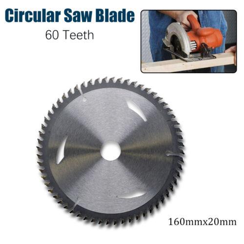 Lame de Bois Scie Circulaire TCT 160mm x 20mm x 60T pour Festool TS55
