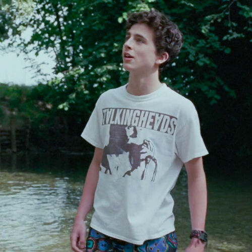Call Me By Your Name Andre CMBYN Elio Tee Printing T-shirt Short Sleeve Shirt