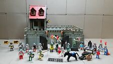 Playmobil große Ritterburg mit Klicky Silber Ritter #692
