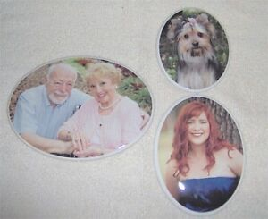 X Porcelain Ceramic Photo Headstone Picture Outdoors - Ceramic photo on headstone