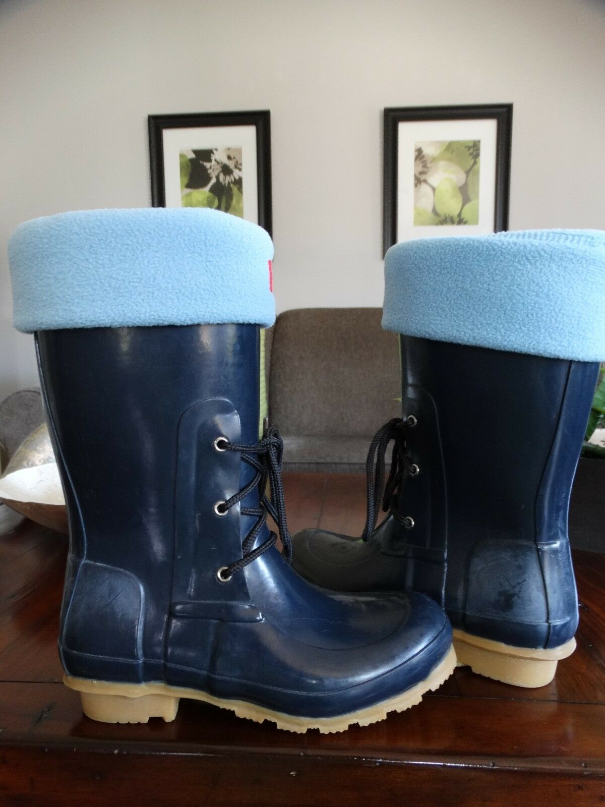 Hunter  ACKLEY  boots with bonus socks 6