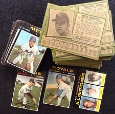 1971 Topps HIGH NUMBER Baseball YOU PICK 12 LOT EX+ 751 749 745 741 705 727 724