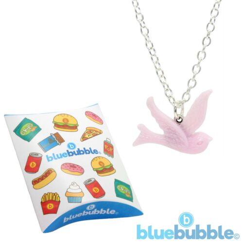 Bluebubble Free Bird tragar Collar Lindo Kitsch Paz Love Animal Festival de la diversión