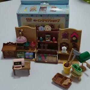 Sylvanian-Families-INTERIOR-SHOP-MI-38-Rare-Vintage-Calico-Critters-Epoch-W-Box