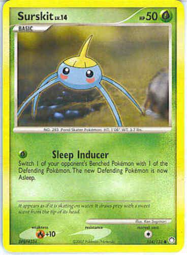 Reverse Holo Common Cards Pokemon TCG Diamond and Pearl Mysterious Treasures