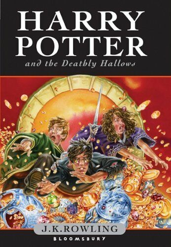 Harry Potter And The Ly Hallows First 1st Edition Bloomsbury Rowling 2007 Ebay