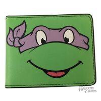Teenage Mutant Ninja Turtles Donatello Face Tmnt Licensed Adult Bi-fold Wallet on sale
