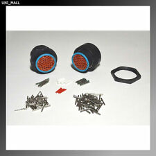 Deutsch HDP20 47-Pin Genuine Bulkhead Connector & RING Kit, 14&20 AWG Contacts
