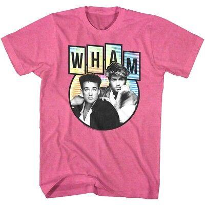 Wham George Michael USA Tour 1985 Men/'s T Shirt Pop Music Concert Album Merch