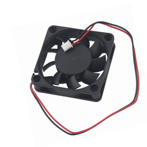 6cm 60mm 12V 2Pin 60x60x15mm Quiet DC Brushless PC Computer Cooling Exhaust Fan