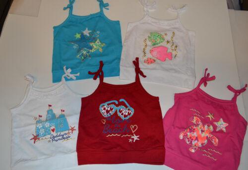 Tough Skins Infant Toddler Girls Tank  Various Sizes  NWT Mix n Match  Beach