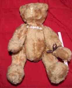 Ancien Ours De Collection Teddy Bear Avril 2006 06 Mohair Artiste Anglaise Uk