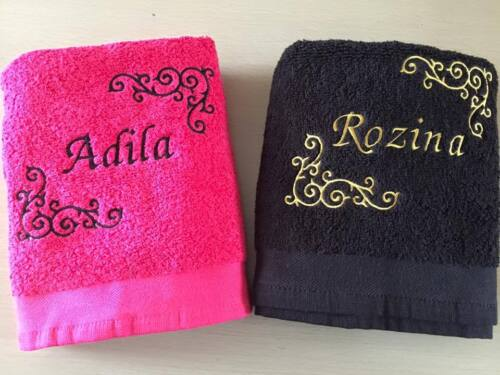 Personalised Towels