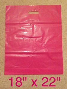 HEAVY DUTY PINK PLASTIC CARRIER BAGS 40x PIECES 18034x22034x3034 - <span itemprop=availableAtOrFrom>reading, London, United Kingdom</span> - Returns accepted Most purchases from business sellers are protected by the Consumer Contract Regulations 2013 which give you the right to cancel the purchase within 14 days after  - reading, London, United Kingdom