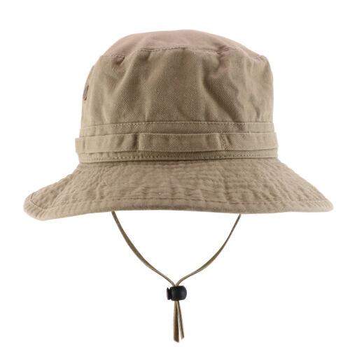 FREESHIP Big Oversized Jungle Boonie Bucket Hat with Chin String Fits Upto XXXL