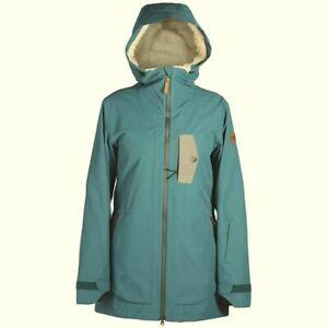 RIDE-SNOW-Women-039-s-VINE-Snow-Jacket-Spruce-Size-Large-NWT-LAST-ONE-LEFT