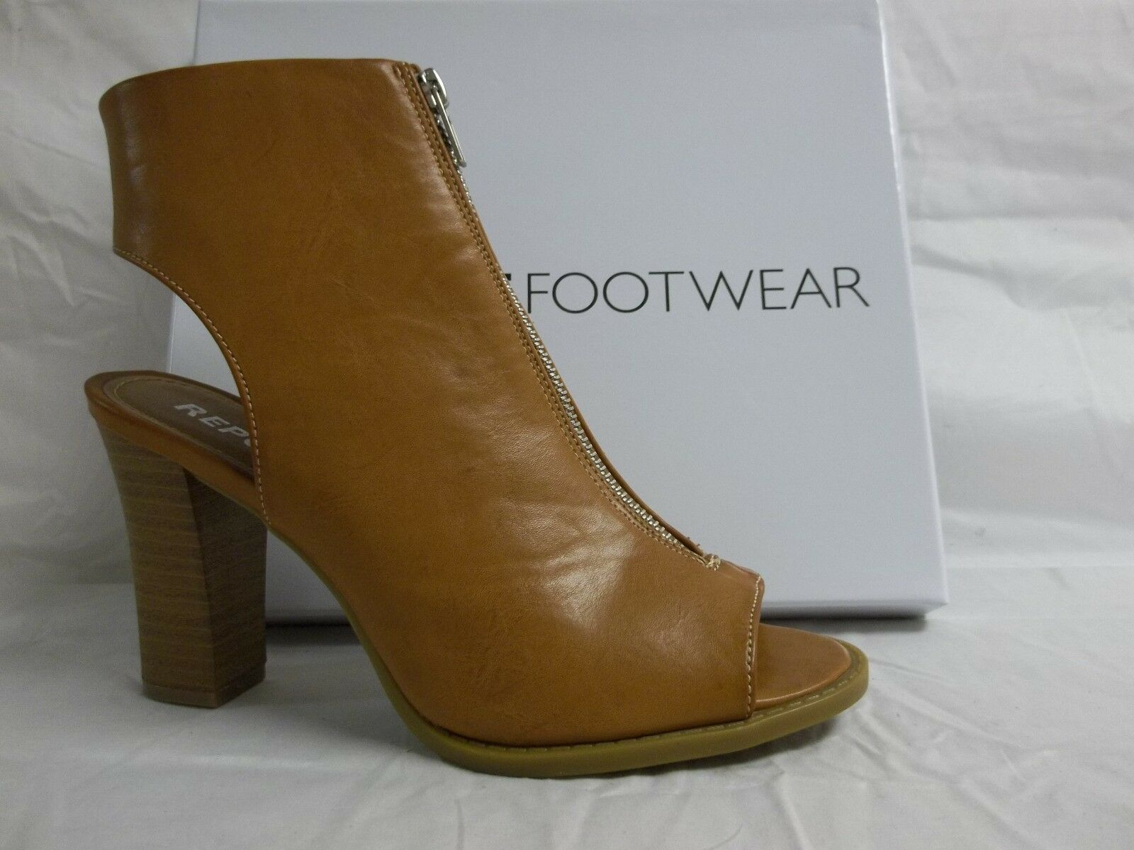 Report Footwear Size 8 M Brooklyn Natural Open Toe Heels New Womens shoes