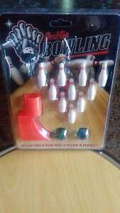 Collection Ici Indésirables Cadeau Desk Top Bowling Jeu Neuf Et Encore Emballé-afficher Le Titre D'origine