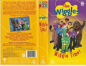 The-Wiggles-Wiggle-Time-1998-ABC-For-Kids-Issue-Original-Wiggles-Vhs-Video