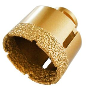 "5//8/"" 16mm Vacuum Brazed Diamond Grit Core Porcelains Granite for Angle Grinder"