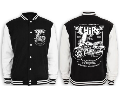 série Kult Bike Collegejacke Highway Chips classique fun Patrol Police XqwPnp