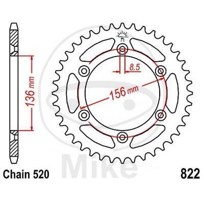 2019 Nuovo Stile Corona 50 Denti 520 Nera 727.67.02 Gas Gas 450 Fse Ec 2003-2004 Essere Accorti In Materia Di Denaro