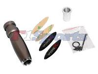 Honda Hand E Brake Handle Grip Cover ( Ac Style ) Black Carbon Fiber Bronze
