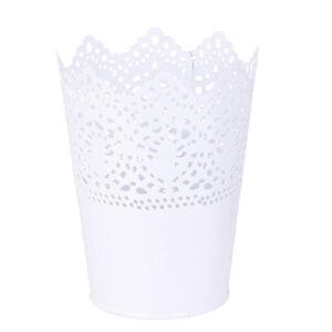 Metall-Pflanze-Vase-Topf-Stift-Make-up-Buerstenhalter-Schreibtisch-Box-heiss