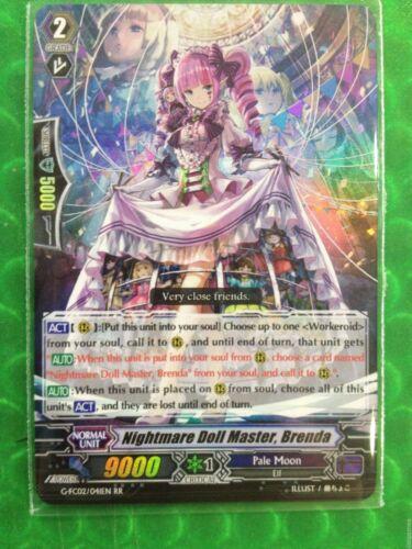 Vanguard English G-FC02//041EN RR Nightmare Doll Master Brenda