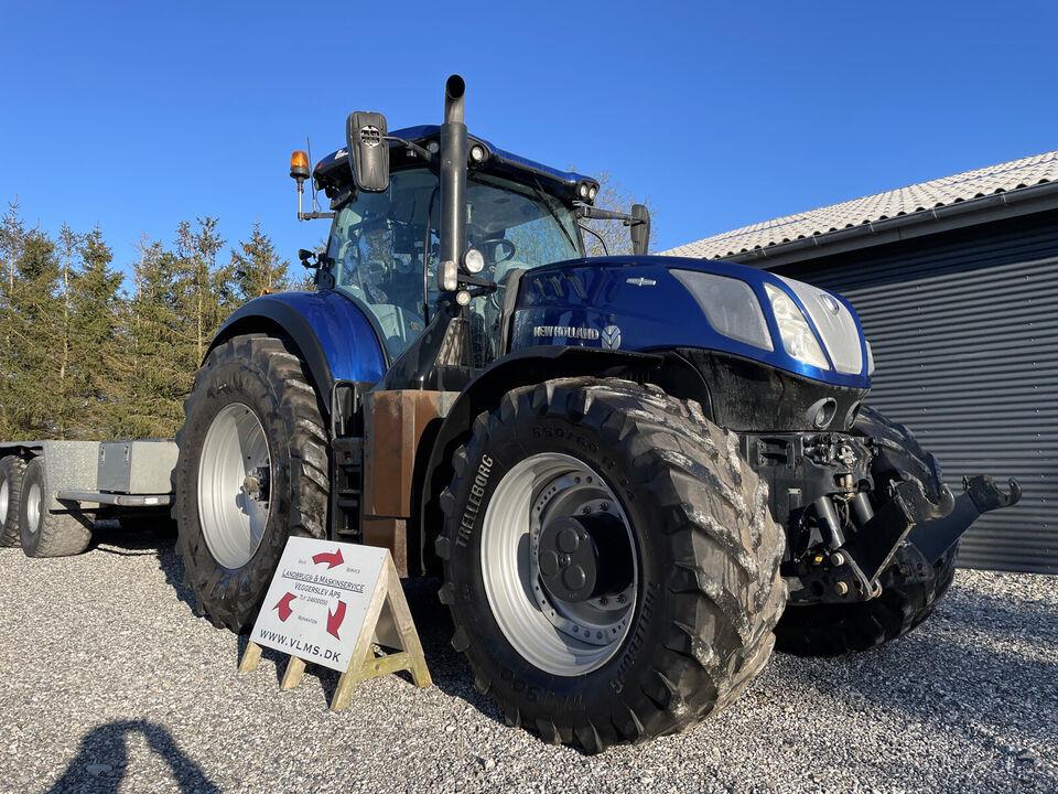 New Holland T7.315HD Bluepower - traktor