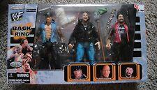 WWE BACK IN THE RING SET UNDERTAKER STONE COLD MICK FOLEY CACTUS JACK JAKKS WWF