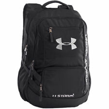 Under Armour Backpack Hustle II Storm1 Tropic Pink   Gray Unisex ... 0a3567b8dd5d2