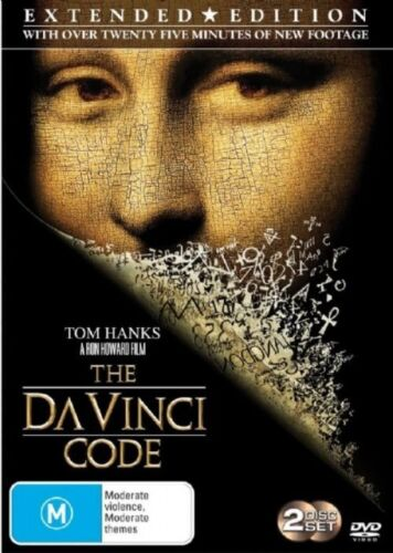1 of 1 - Da Vinci Code (DVD, 2006, 2-Disc Set) Tom Hanks Region 4 🇦🇺 Brand New Sealed