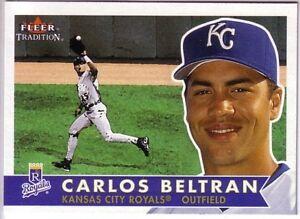 Details About 2001 Tradition Kansas City Royals Team Set Carlos Beltran Johnny Damon Randa Dye