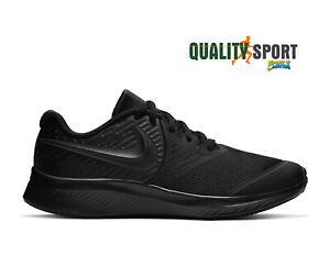 Dettagli su Nike Star Runner 2 Nero Scarpe Ragazzo Sportive Running Palestra AQ3542 003 2019