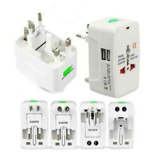Universal-Reiseladegeraet-Adapter-Stecker-Konverter-USB-Port-Tragbare-Ladung-I5D5