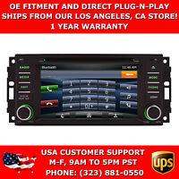 6 Gps Navigation Stereo Radio W/ Bluetooth & Dvd For 2008-2010 Dodge Dakota