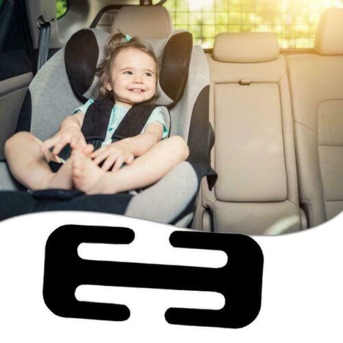 1//2PCS Locking Clip Car Metal Car Seat Belt Adjuster Steel Black Portable O6Q7
