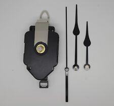 mécanisme horloge pendule quartz à balancier- aiguilles poire 8/11cm