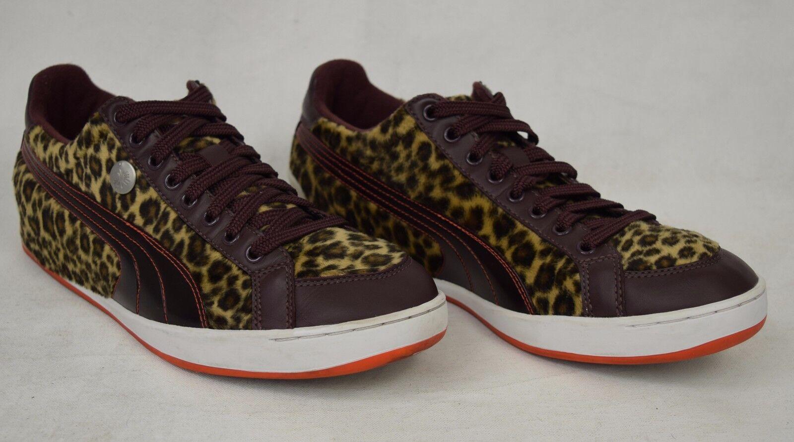 Scarpe casual da uomo  Puma Brown Mihara Yasuhiro MY-20 Leopard Brown Puma Shoes Sneakers 11 uomos 343863 01 c96d44