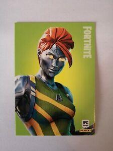 Carte-panini-FORTNITE-serie-1-Trading-card-162-CHROMIUM-Rare